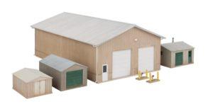 HO scale barn