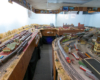 A visitor's eye view of a large-room HO Scale layout.