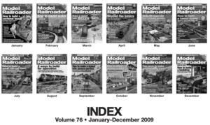 model railroader index 2009