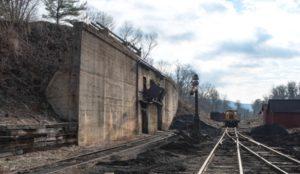 Coal chute