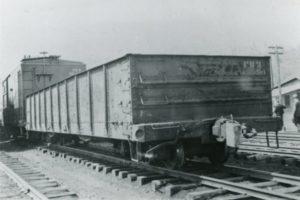 vintage train car