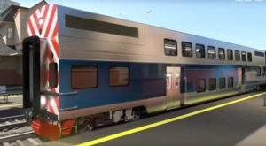 Amtrak car
