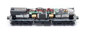 interior wiring of train body