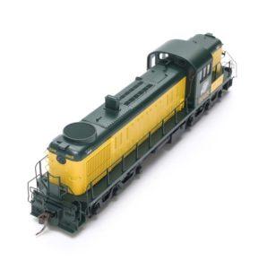 top view of locomotive
