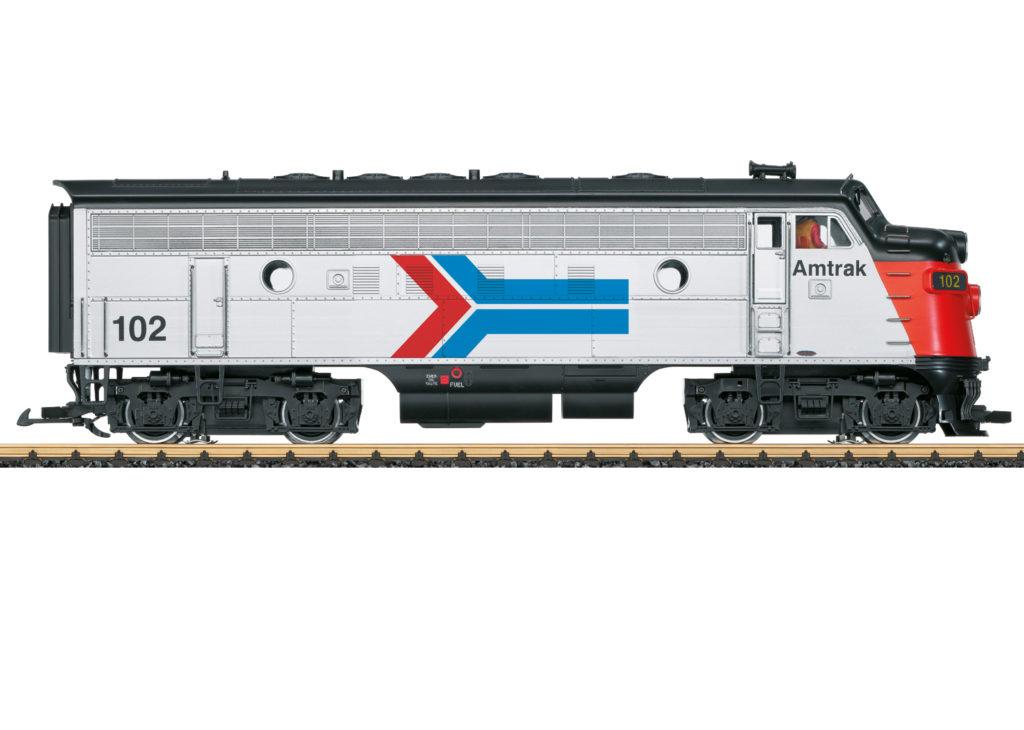 Märklin large scale Amtrak Electro-Motive Division F7A diesel locomotive no. 102
