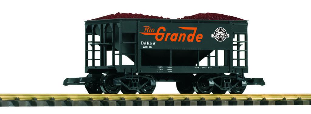 PIKO America large scale Denver & Rio Grande Western ore car no. 52116