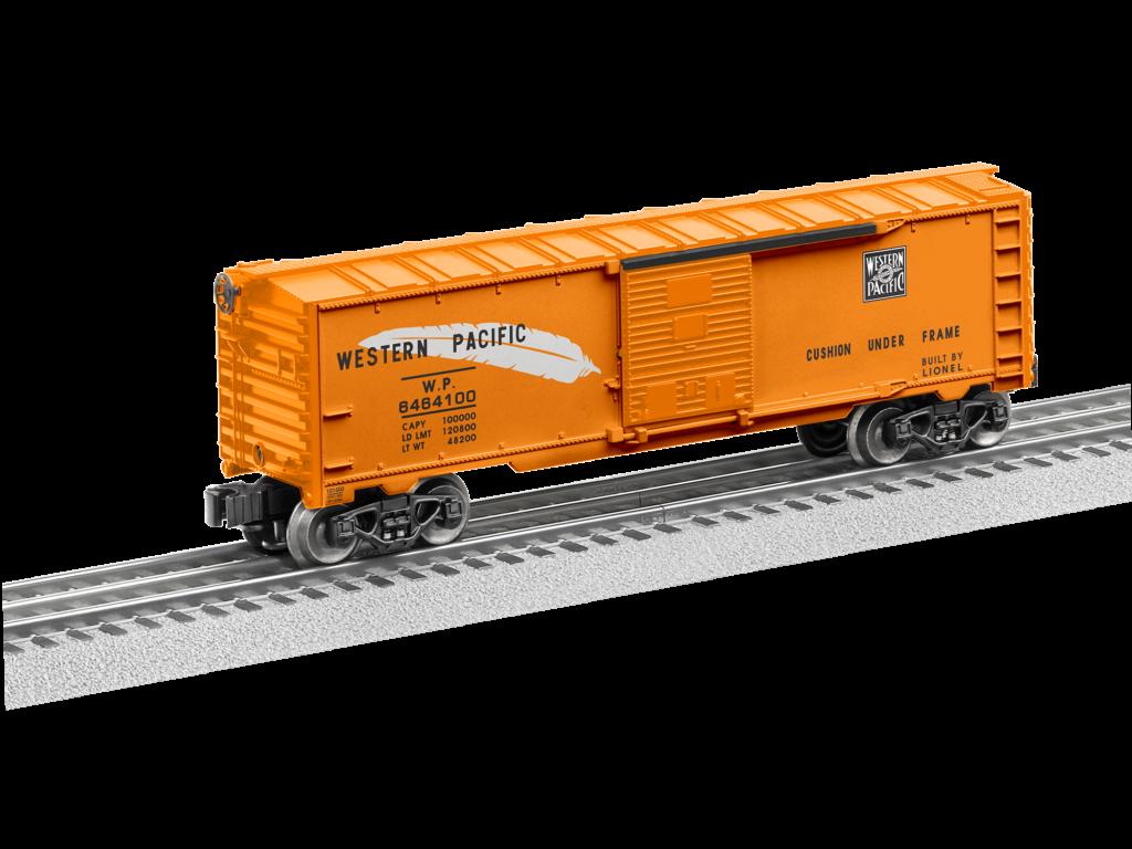 Train Collectors Association Lionel no. 6464-100 Western Pacific boxcar.