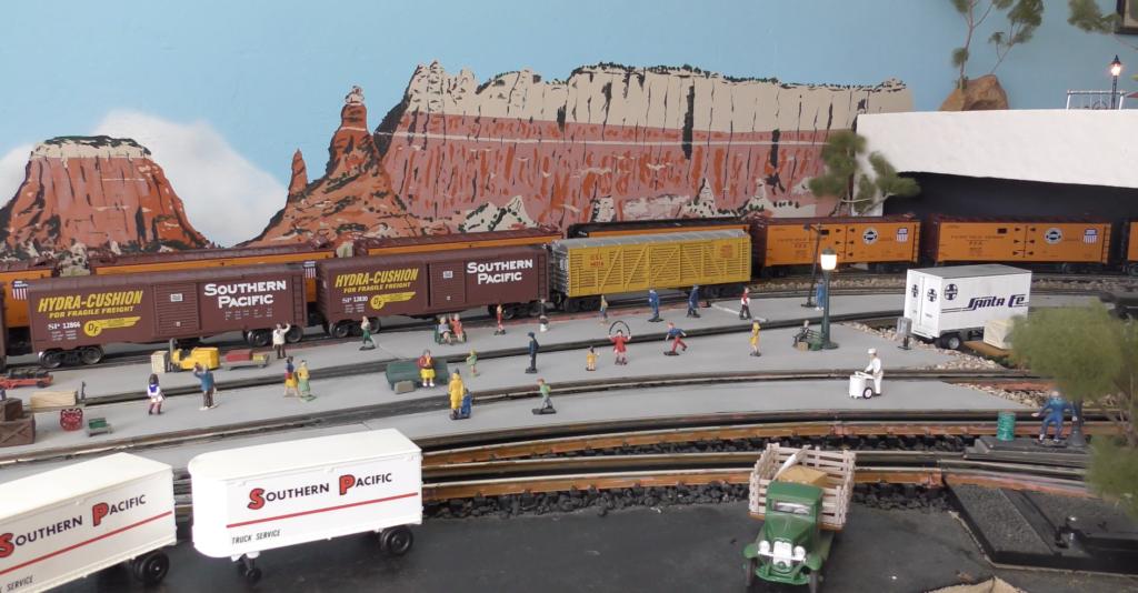 Saguaro & Southwestern O gauge layout