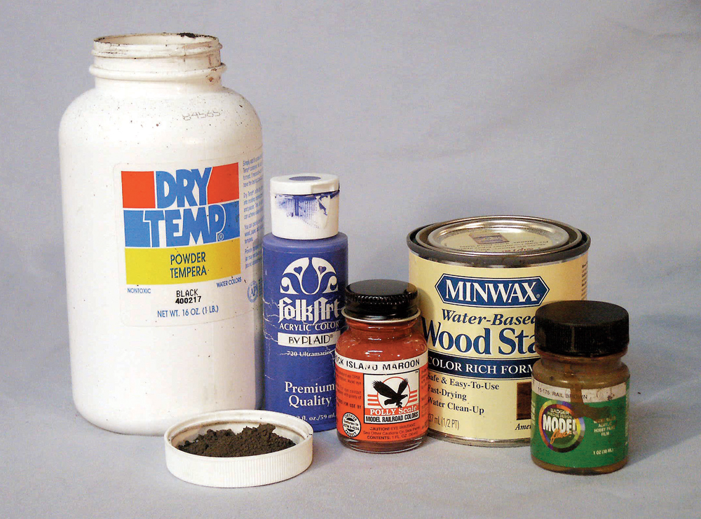 Water-based acrylic paint from the Folk Art line