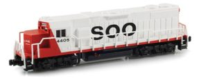 Soo diesel locomotive