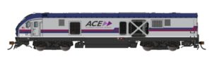 Side view of train