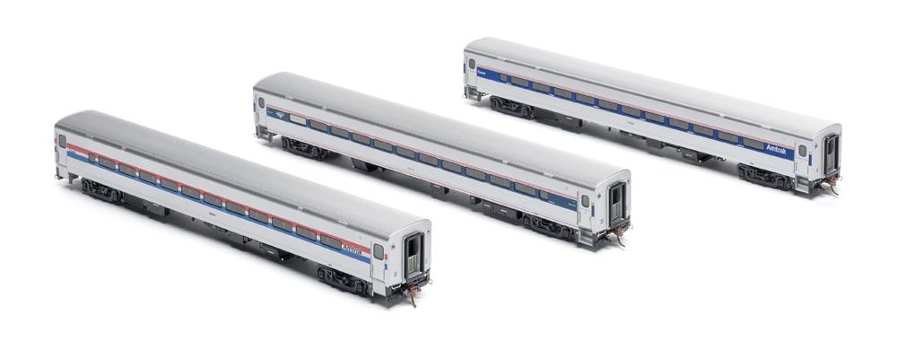 Amtrak coaches