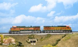 locomotive on tracks