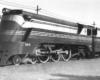 Streamlined 4-6-2 steam locomotive