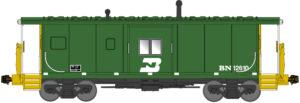 Bay-window caboose