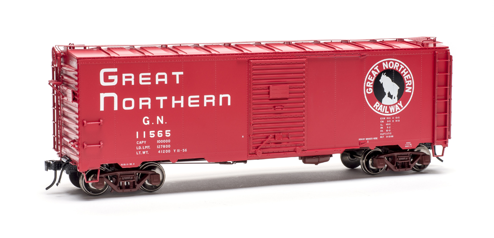 Boxcar with Great Northern logo