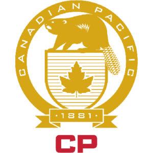 Canadian Pacific Railway beaver logo