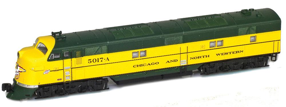 American Z Line Chicago & North Western Electro-Motive Division E7A diesel locomotive