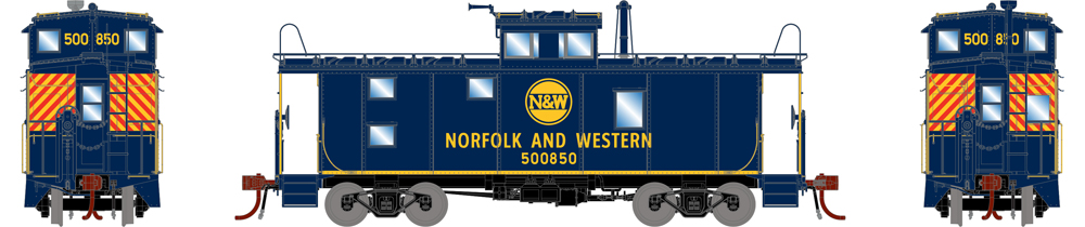 Norfolk and Westestern caboose