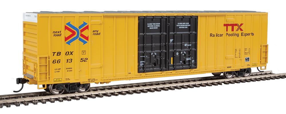High cube boxcar