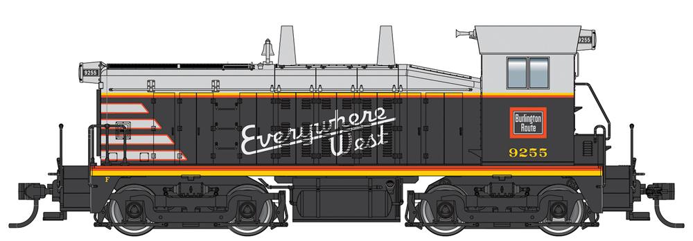 Walthers diesel locomotive