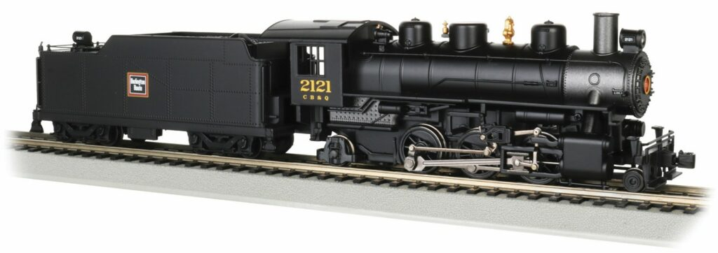 a steam locomotive and tender