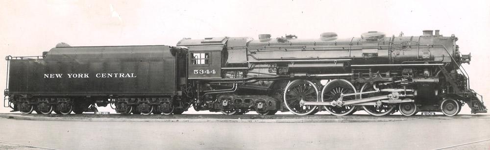4-6-4 steam locomotive
