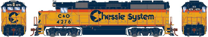 Athearn Genesis HO scale Chessie System Electro-Motive Division