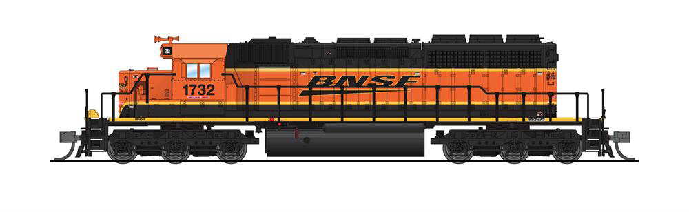 Broadway Limited Imports BNSF Ry. Electro-Motive Division SD40-2 diesel locomotive