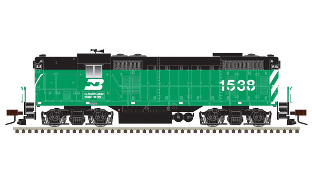 Burlington Northern Electro-Motive Division GP7 diesel locomotive