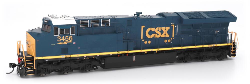 General Electric ET44AH (CSX) diesel locomotive.