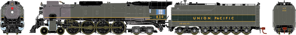 Genesis 4-8-4 FEF-2 and FEF-3 steam locomotives.