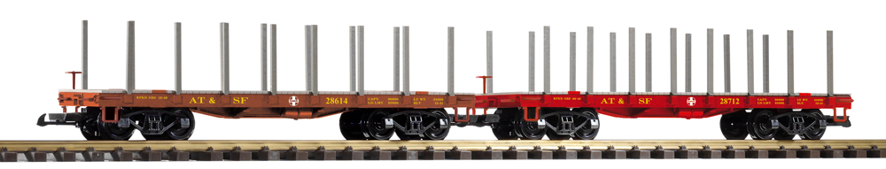 flatcars with stakes
