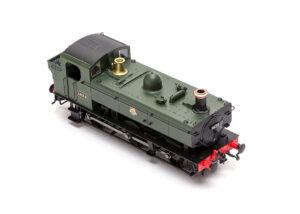Model Rail/Rapido Trains 16XX 0-6-0PT top down view showing top of tank detail