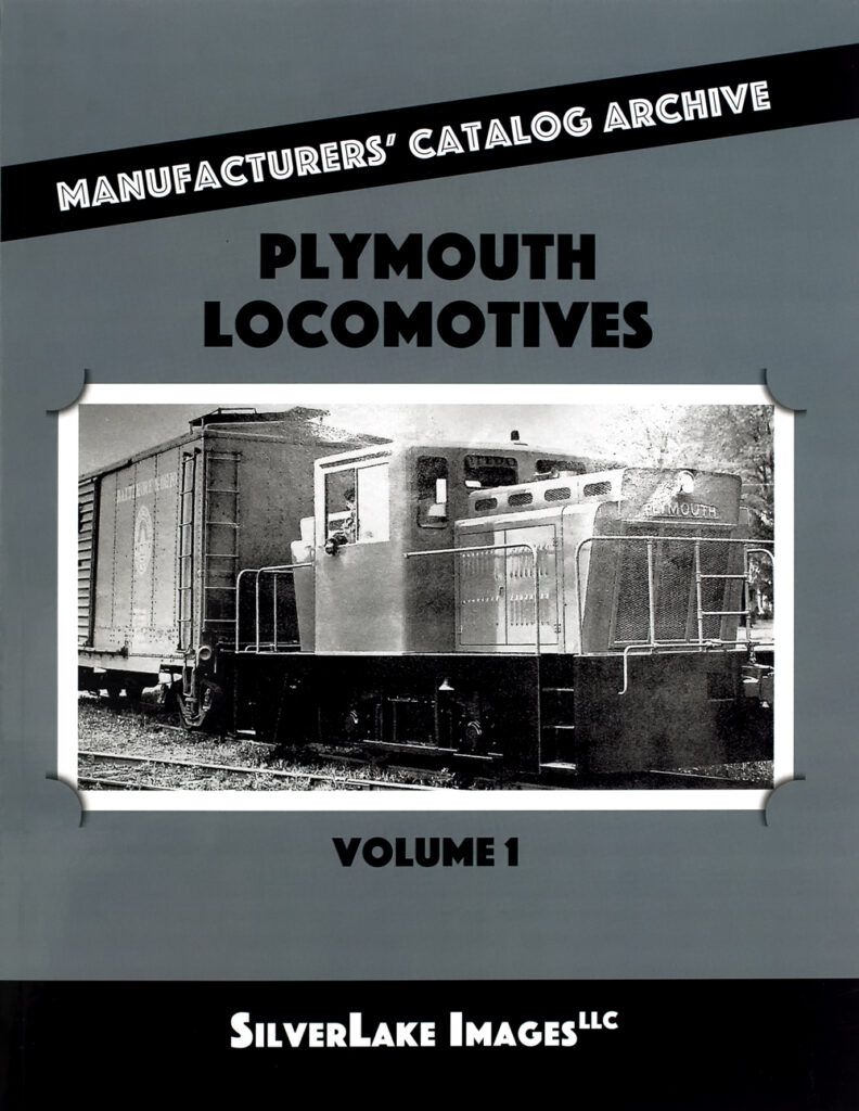 Ron's Books Plymouth Locomotives Vol. 1 cover
