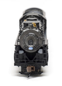 Front of Bachmann locomotive