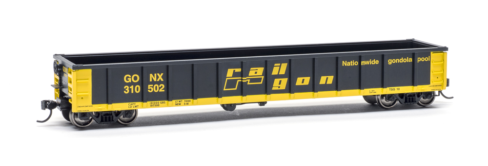 Railgon gondola