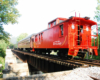 caboose on end of train in Tennessee