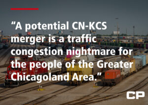 Facebook post by Canadian Pacific quoring Barrington, Ill., filing