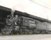 Camelback 4-6-0 steam locomotive