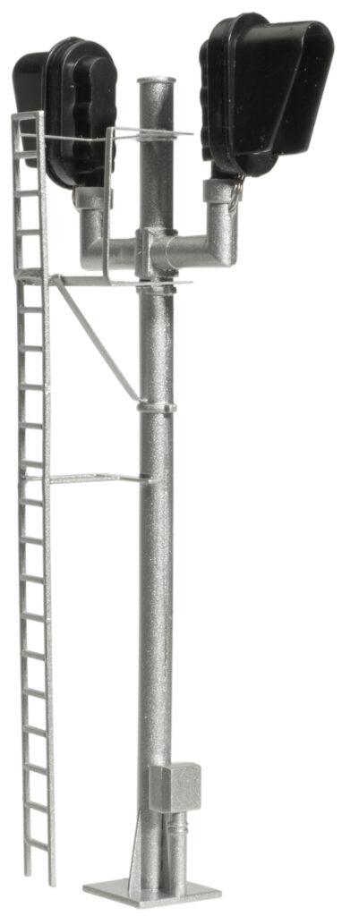 Atlas Model Railroad Co. HO scale modern hooded bi-directional signal.