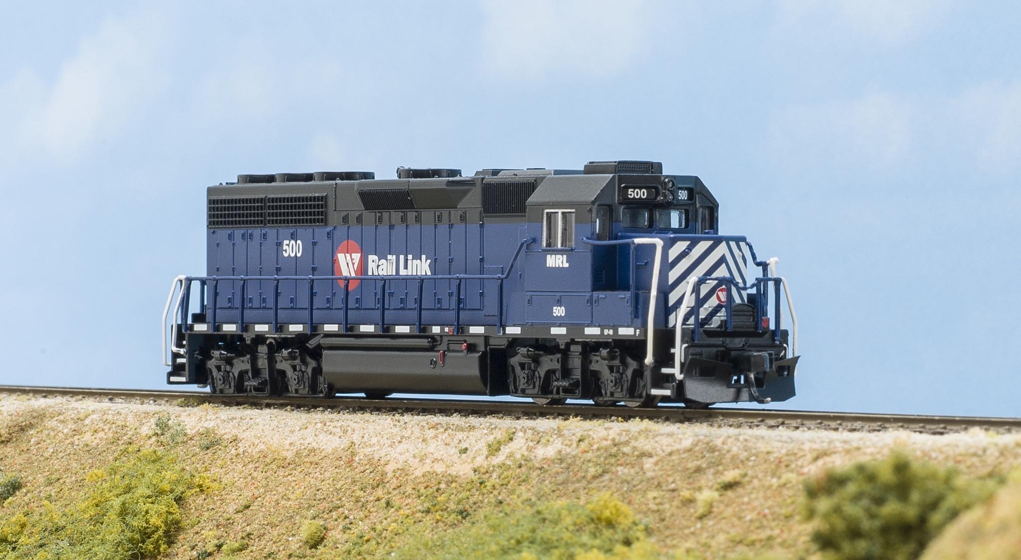 Electro-Motive Division GP40 diesel locomotive