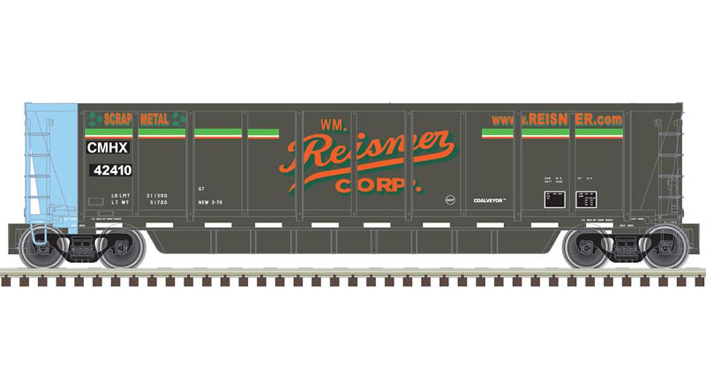Atlas Reisner Scrap Metals American Car & Foundry Coalveyor coal gondola