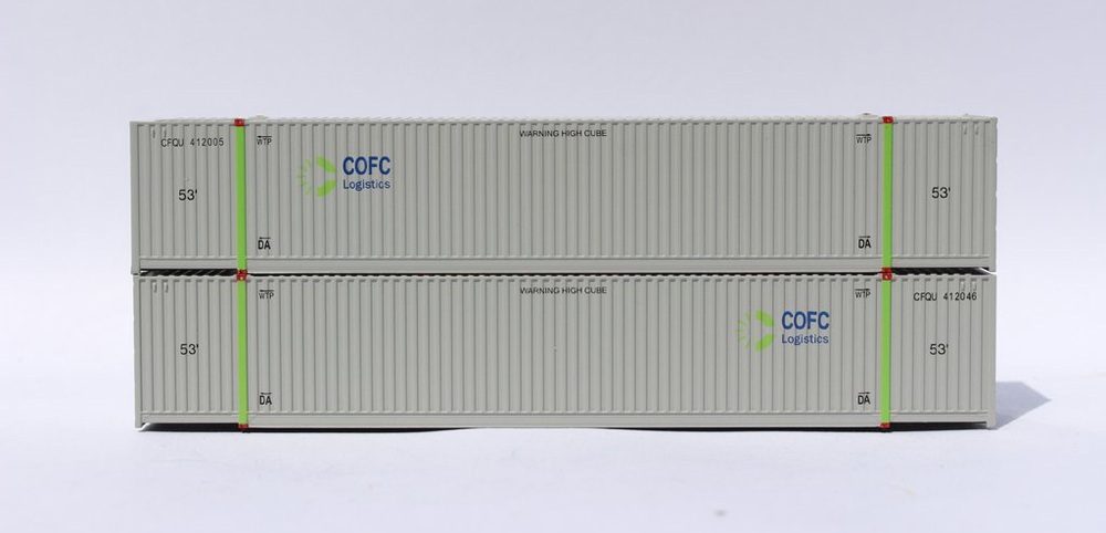 Jacksonville Terminal Company COFC 53-foot 8-55-8 container