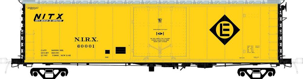 50-foot boxcar with Erie-Lackawanna diamond no. NIRX 60001