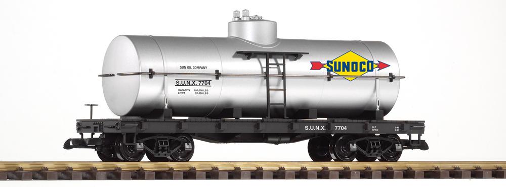PIKO America Sunoco large scale tank car