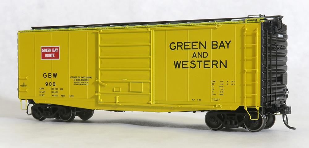 Green Bay & Western Pullman-Standard 40-foot PS-1 boxcar