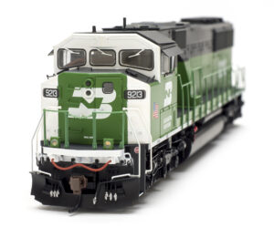 The front of the Athearn Genesis EMD SD60M