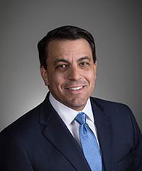 Headshot of railroad executive