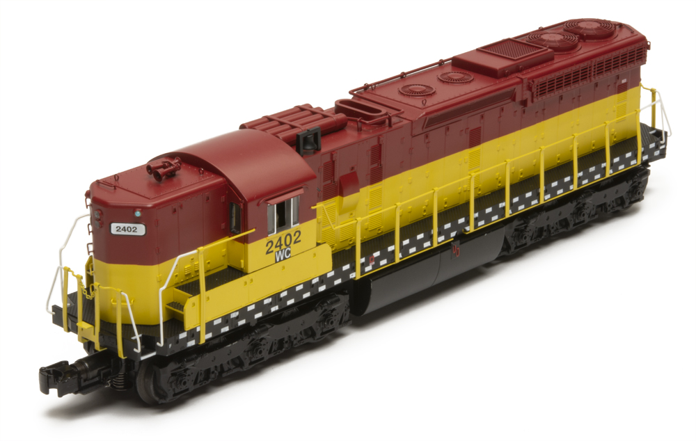 O Gauge Wisconsin Central SD24 by MTH
